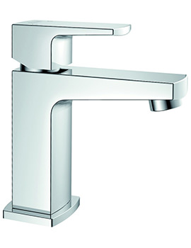 Dekka Single Lever Basin Mixer Tap With Clicker Waste
