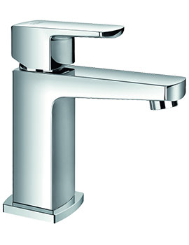 Dekka Cloakroom Basin Mixer Tap With Clicker Waste