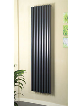 Bassano 1800mm Height Vertical Radiator Anthracite