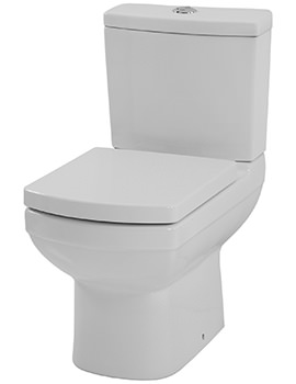 Saneux I-Line Close Coupled WC Pan With Cistern And Seat