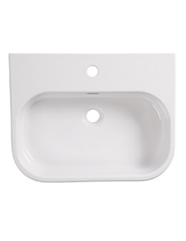 Accent 560mm 1 Taphole Semi-Countertop Basin