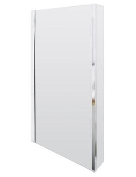 Quattro 805 x 1400mm Screen For Square Shower Bath