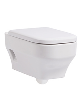 Accent 360 x 505mm Wall Hung WC Pan