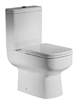 Roper Rhodes Geo Close Coupled WC With Cistern And Seat