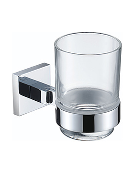 Square Tumbler And Holder