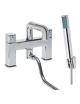 Veer Deck Mounted Bath Shower Mixer Tap