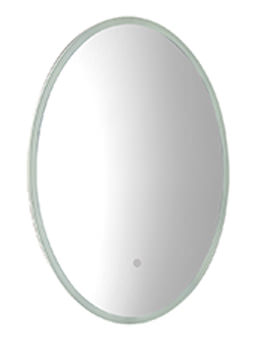 Eminence 490 x 650mm Illuminated Oval Mirror