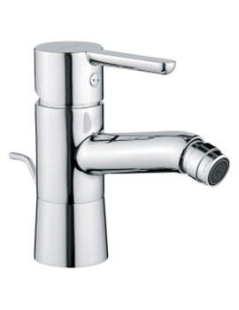 Matrix Bidet Mixer Tap With Pop Up Waste
