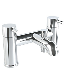 Minimax S Deck Mounted 2 Tap Holes Bath Shower Mixer