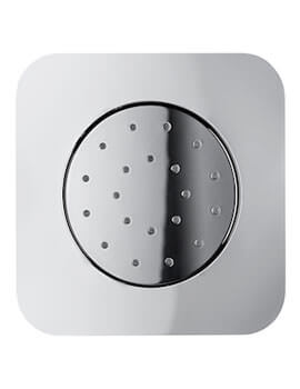 Puzzle Concealed Shower Body Jet With Pivot Function