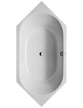 D-Code 1900 x 900mm Built-In Bathtub With Support Feet