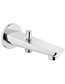 Z-Line Chrome Bath Spout With Handshower Outlet