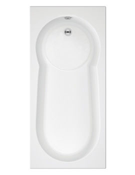 Trojan Keyhole Single Ended Bath 1700 x 800mm - No Taphole