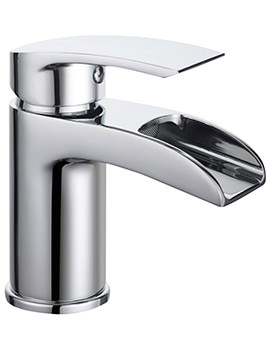 Bristan Glide Waterfall Chrome Basin Mixer Tap - Image