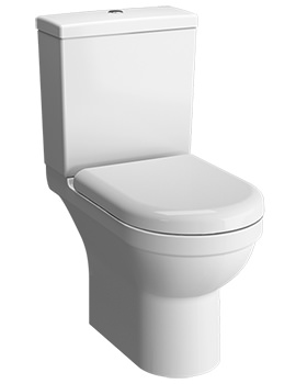 S50 650mm Rim-Ex Open-Back Close Coupled WC Pan With Cistern