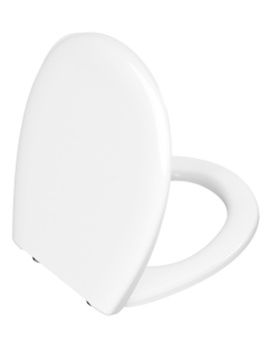 White Toilet Seat And Cover