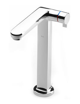 Singles Pro Extended Height Basin Mixer Tap With Pop-Up Waste
