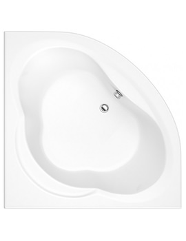 Laguna 1450mm Corner Bath With Panel
