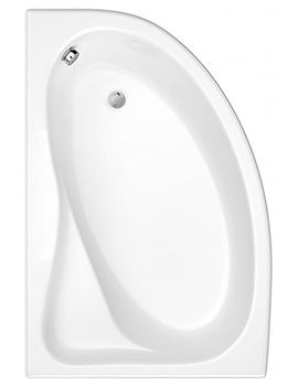 Trojan Classic White Left Hand Offset Corner Bath 1535 x 1005mm NTH