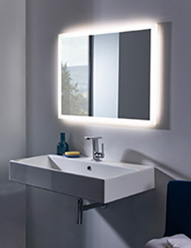 Intense Illuminated Mirror Chrome