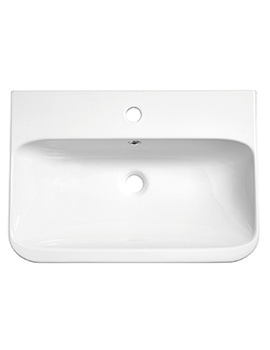 System White Ceramic Basin