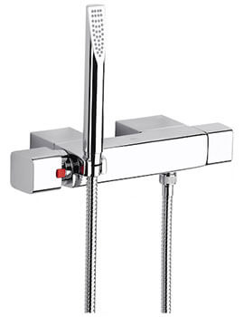 Thesis Wall Mounted Thermostatic Shower Mixer With Handset