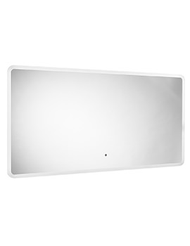 System 1200 x 600mm LED Illuminated Mirror