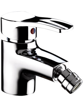 Capri Bidet Mixer Tap With Pop Up Waste