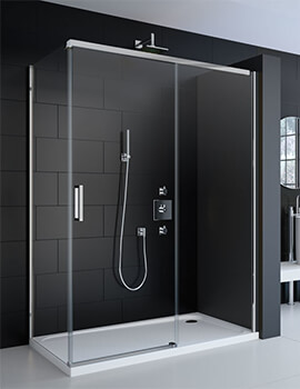 Merlyn 8 Series Frameless 8mm Glass Sliding Shower Door 1200mm