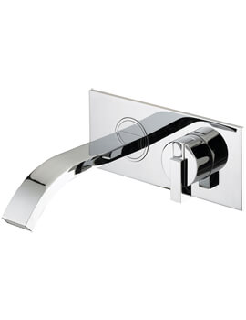 Chill Wall Mounted Bath Filler Tap