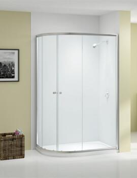 Ionic Source 2 Door Offset Quadrant Shower Enclosure 1850mm Height