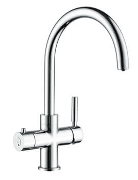 Mayfair Escala 3 In 1 Instant Hot Water Filtered Kitchen Tap Chrome