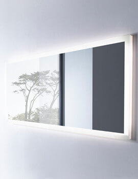 Reveal 1200 x 500mm LED Illuminated Mirror