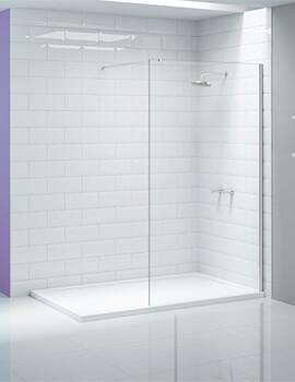 Merlyn Ionic Showerwall Glass Panel - Available With Choice Of Many Combinations