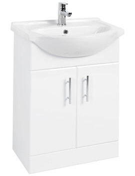 Mayford 550mm Double Door Vanity Unit And Basin