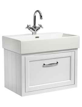 Hampton 700mm 1 Drawer Wall Mounted Unit With Basin