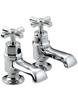 Art Deco Pair Of Bath Taps