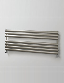 MHS Rads 2 Rails Finsbury Wide 500mm Towel Rail