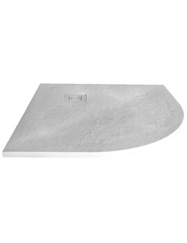 Merlyn TrueStone Quadrant 900 x 900mm Shower Tray With Waste