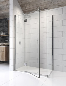 Kudos Pinnacle8 2000mm High Hinged Door For Corner