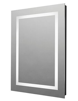Tavistock Clarion 500 x 700mm Illuminated LED Mirror With Bluetooth