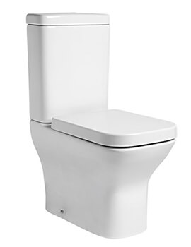 Structure Fully Enclosed Close Coupled WC With Cistern And Soft Close Seat