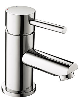 Bristan Blitz Basin Mixer Tap With Clicker Waste - Image