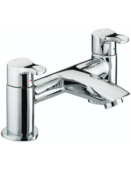 Capri Chrome Bath Filler Tap