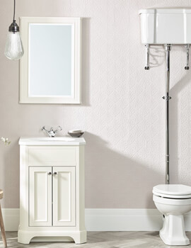 Tavistock Vitoria Floor Standing 600mm Vanity Unit With Underslung Basin