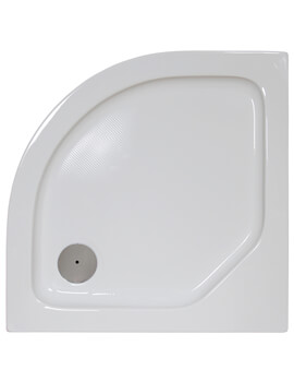 Bathroom Origins Urban Low Profile Quadrant Shower Tray - Q35-88