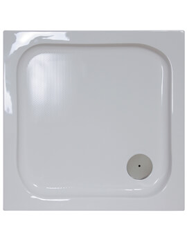 Bathroom Origins Urban Low Profile Square Shower Tray - S35-8
