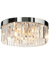 Bathroom Origins Crystal Ceiling Light