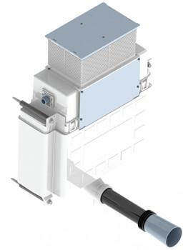 Saneux Flushe 2.0 Compact Concealed Cistern - Front Flush - HC2037