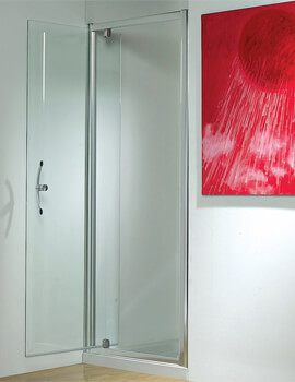 Original 1850mm High Straight Pivot Shower Door